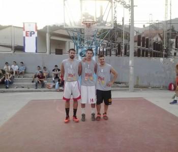 """Pobjednik ulične košarke """"Binvest Lubura izrada"""""""
