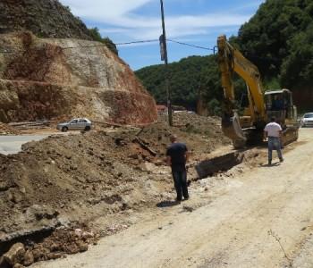FOTO: Radovi na kružnom toku na južnom ulazu u Prozor