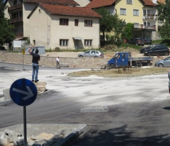 FOTO: Nastavljaju se radovi u Prozoru