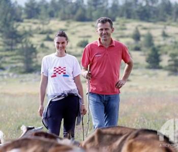 Širokobriježanin i Duvanjka: Ljubavna priča na farmi koza u parku prirode Blidinje