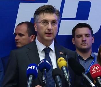 Plenković: Započinjemo novo poglavlje – HDZ će postati središnja snaga razvoja Hrvatske