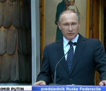 Vladimir Putin posjetio Sloveniju