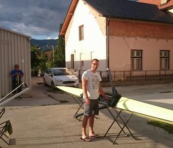 Damir Martin se na Ramskom jezeru priprema za Olimpijske igre u Riju