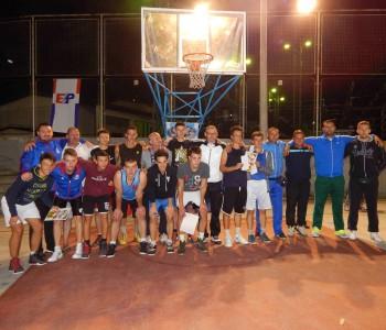 """Ekipa """"Carbonare"""" najuspješnija na """"Streetballu"""" za juniore"""