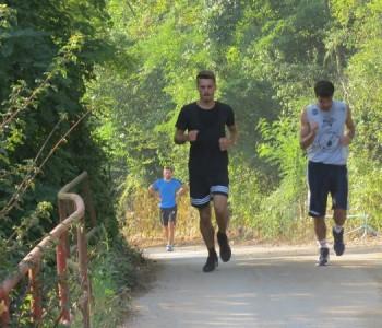 Emanuel Vladić pobjednik maratona od Ustirame do Trišćana