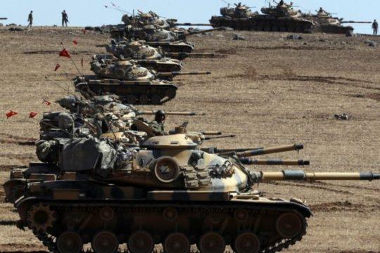 Na tursko-sirijskoj granici počela ofanziva za oslobađanje Jarablusa od IS-a