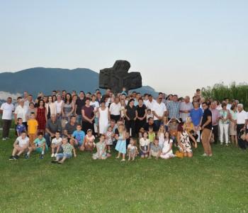Druženje obitelji Tadić, potomaka Kate i Petra-Periše Tadića