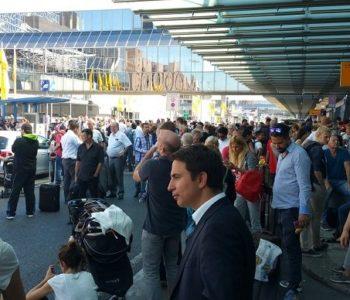 Evakuiran terminal frankfurtske zračne luke