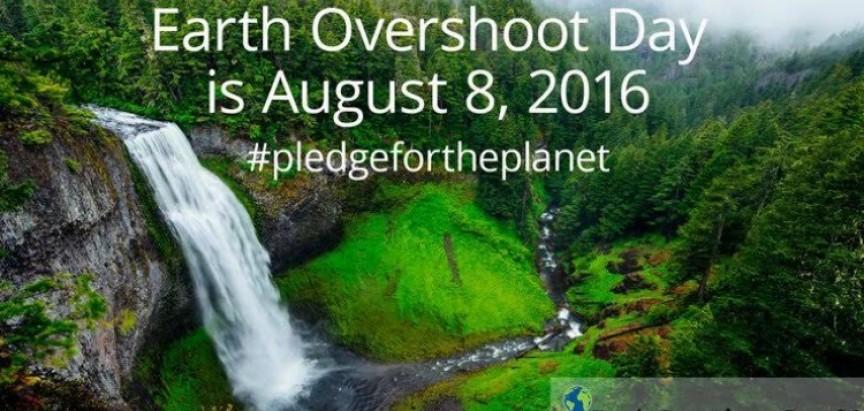 Udruga Dinarica: Ovog ponedjeljka potrošit ćemo sve Zemljine resurse