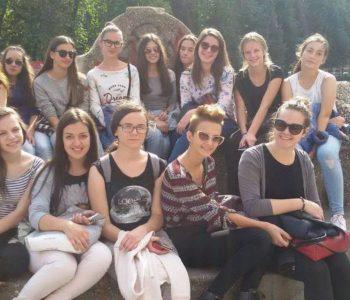 Mažoretkinje na izletu u Sarajevu