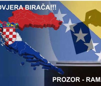 Općina Prozor-Rama upozorava:  NE BUDITE DIO IZBORNE PREVARE
