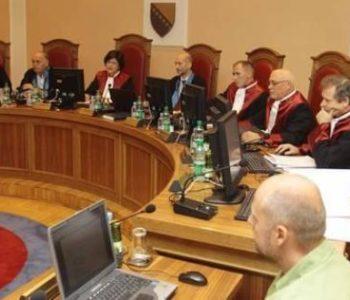 Ustavni sud BiH odbio zahtjev za preispitivanjem odluke o 9. siječnju