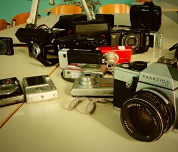 Foto sekcija priprema izložbu fotoaparata