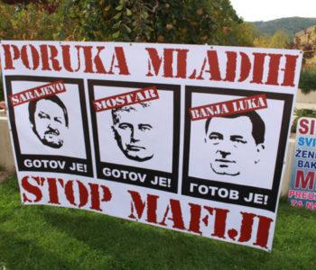 Mladi Mostara: Stop mafiji, gotovi ste!