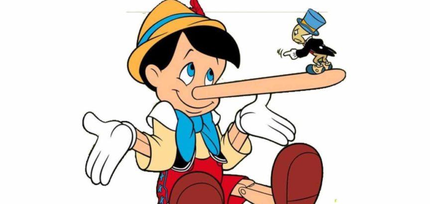 Male laži čovjeka potiču na izgovaranje većih
