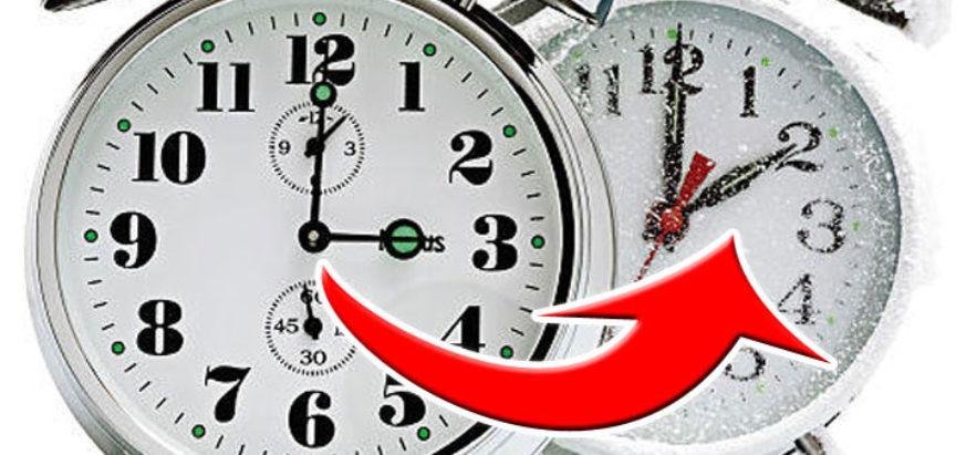 Ne zaboravite pomaknuti sat, počinje zimsko računanje vremena