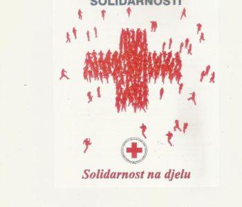 Crveni križ Prozor- Rama: tjedan solidarnosti ( 24- 31.10. 2016 god.)