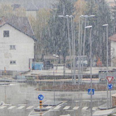 Prvi ovosezonski snijeg