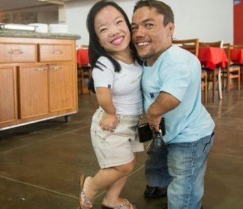 Paulo i Katyucia kao najniži bračni par na svijetu upisani u Guinnessovu knjigu rekorda