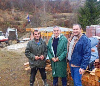 Gradnja kuće obitelji Budim dobro napreduje