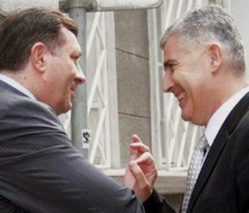 Dodik: Ulazi Željko Komšić i njegov DF. OK, to je na bošnjačkoj strani. On traži sada od srpske strane da pored predsjedavajućeg imamo samo dva ministra, jer zaboga ulazi Željko Komšić