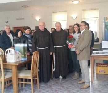 FOTO: Oproštajna svečanost za duhovnog asistenta fra Živka Petričevića