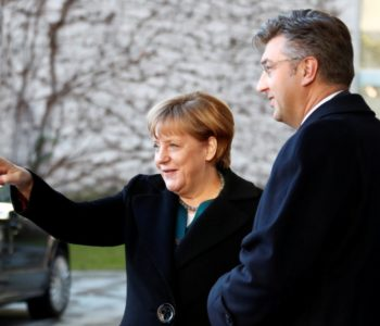 Angela Merkel primila Plenkovića: 'Odnosi između Hrvatske i Njemačke su sjajni'