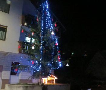 FOTO: Božićno drvo obitelji Papak – tradicija duga već sedamnaest godina