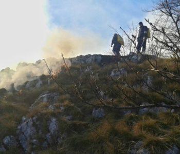 Foto: Na Dašnjiku izbio požar