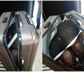 Španjolska policija pronašla migranta skrivenog u koferu