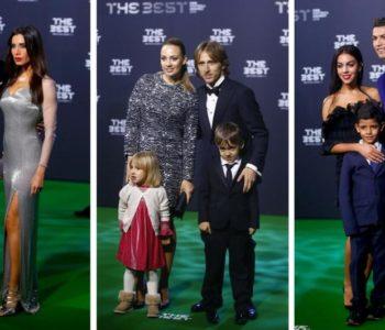 Kralj Ronaldo i Luka došli sa ženama i djecom po nagrade