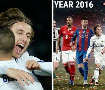 Uefa izabrala momčad godine: Luka najbolji među veznjacima
