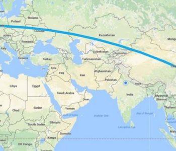 Željeznička linija povezala Kinu i Veliku Britaniju