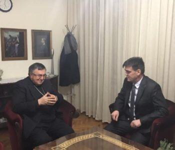Kardinal Puljić sa Cvitanovićem o položaju Hrvata