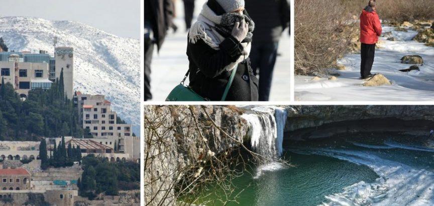 Snijeg paralizirao Dubrovnik