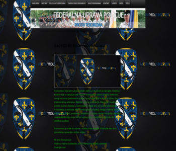 """""""Anonymous Bosnia"""" hakirali web stranicu Federalne uprave policije"""