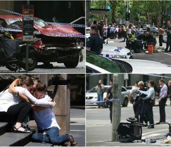 Namjerno autom rušio ljude u središtu Melbournea, 3 osobe poginule, uključujući dijete. Tromjesečna djevojčica u kritičnom stanju