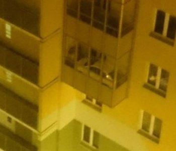 Kako je uspio parkirati automobil na 4. kat? (FOTO)