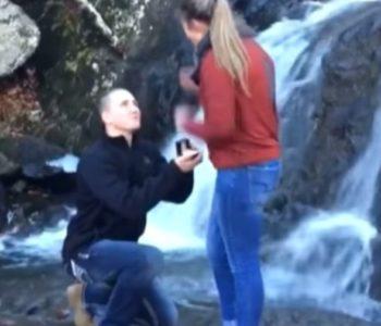 Zaprosio ju je, ona je pristala i rasplakala se, a onda se dogodio scenarij iz noćne more!