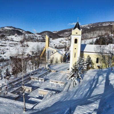 Zima na Uzdolu