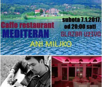 "Caffe restaurant ""MEDITERAN"" – Glazba uživo"