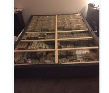Znate kako izgleda 20 milijuna dolara ispod madraca? Ovako…