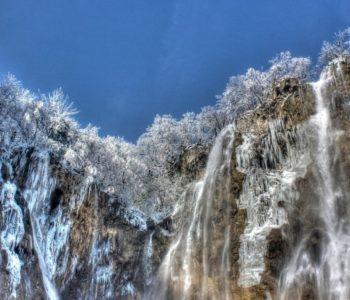 Ledeno kraljevstvo: Pogledajte Plitvička jezera okovana ledom