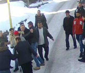 Snimak napada na zamjenika predsjednika SDA u Srebrenici