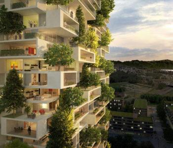 DAŠAK SVJEŽINE: Ova vertikalna šuma s 3000 biljaka dnevno će proizvoditi 60 kilograma kisika