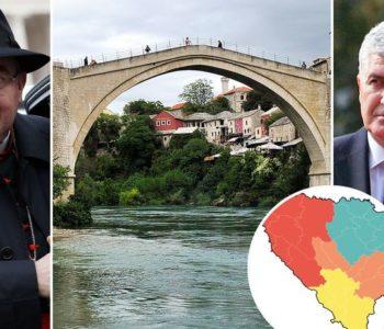 EKSKLUZIVNO: CRKVA JE PROTIV TREĆEG ENTITETA 'BiH treba urediti tako da ima četiri etnički mješovite regije. Samo tako možemo sačuvati Hrvate'