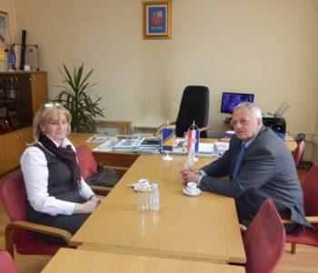 Jadranka Modrić, gerant konzulica u Mostaru posjetila općinu Prozor-Rama