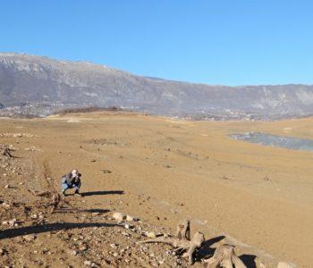 Foto: Mediji iz cijele regije zainteresirani za poluprazno Ramsko jezero