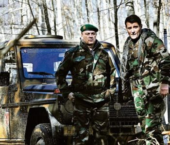 FOTO: KOD SVETOG ROKA PALA PRVA KLAPA 'GENERALA' Goran Višnjić: 'Imam strašnu tremu, najveću u životu. General Gotovina za mene je heroj'