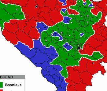 Evo kako bi izgledala nacionalna struktura većinski hrvatskog i bošnjačkog entiteta